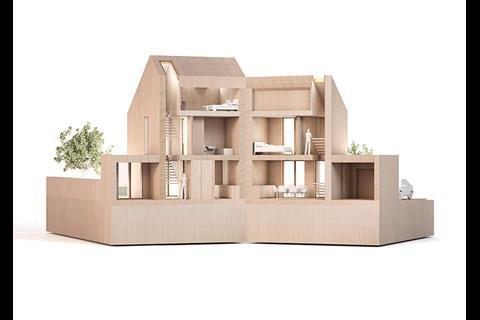 One of the six shortlisted finalists in the Project 2020 competition to create housing for the future, run by RIBA and housebuilder Taylor Wimpey.